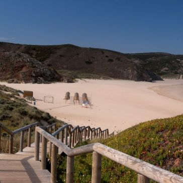 Amado_Beach_strand portugal vakantie