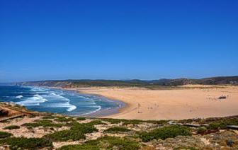 beach-bordeira-aljezur-algarve vakantie strand