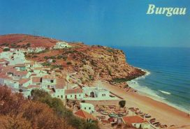 burgau-postcard-vakantie portugal