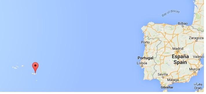 furnas map - vakantie sao miguel portugal