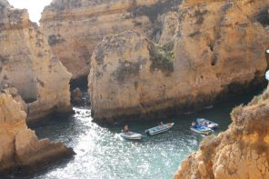 grotten tour bij portimao - vakantie algarve portugal IMG_8655