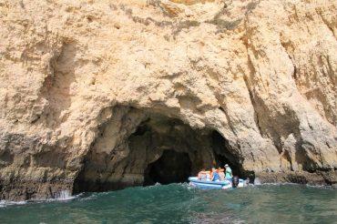 grotten tour bij portimao - vakantie algarve portugal IMG_8709
