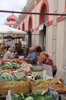 Loule markt - zaterdag - vakantie algarve portugal IMG_8281