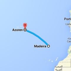 maps- azoren - madeira vakantie