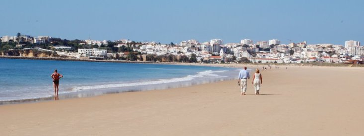 Meia Praia - top 10 mooiste stranden Algarve portugal vakantie