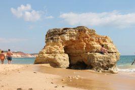olhos d'agua - albufeira algarve vakantie portugal