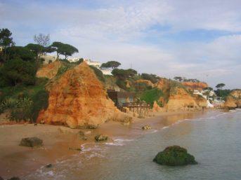 Olhos-d´Agua-vakantie Algarve Portugal 3