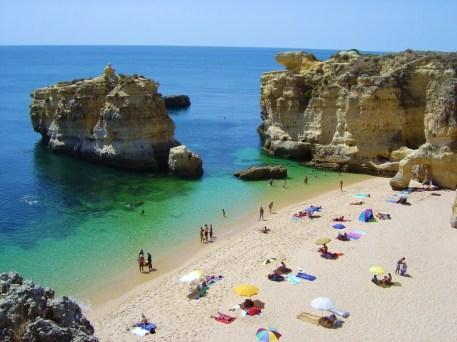 Olhos-d´Agua-vakantie Algarve Portugal
