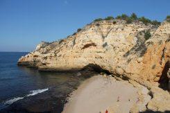 paraisa beach strand carvoeiro vakantie algarve portugal IMG_8423