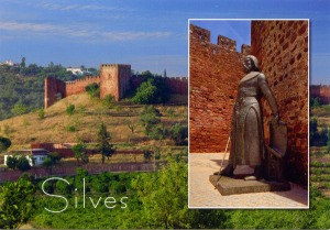 PORTUGAL - Silves kasteel vakatie