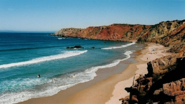 praia-do-amado top 10 mooiste stranden Algarve