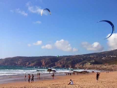 Praia do Guincho - zon zee strand vakantie Portugal