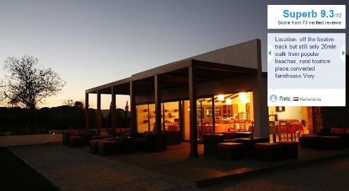 quinta do mel bed and breakfast algarve boeken