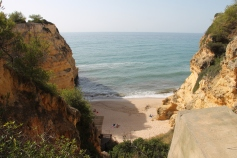 strand da marinha - vakantie algarve nabij carvoeiro - portugal IMG_8876