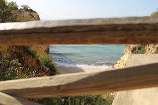 strand da marinha- vakantie algarve nabij carvoeiro - portugal IMG_8877