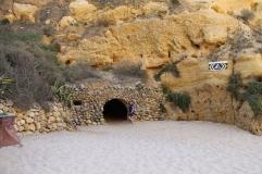 strand da marinha - vakantie algarve nabij carvoeiro - portugal IMG_8878