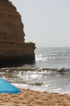 strand da marinha - vakantie algarve nabij carvoeiro - portugal IMG_8883