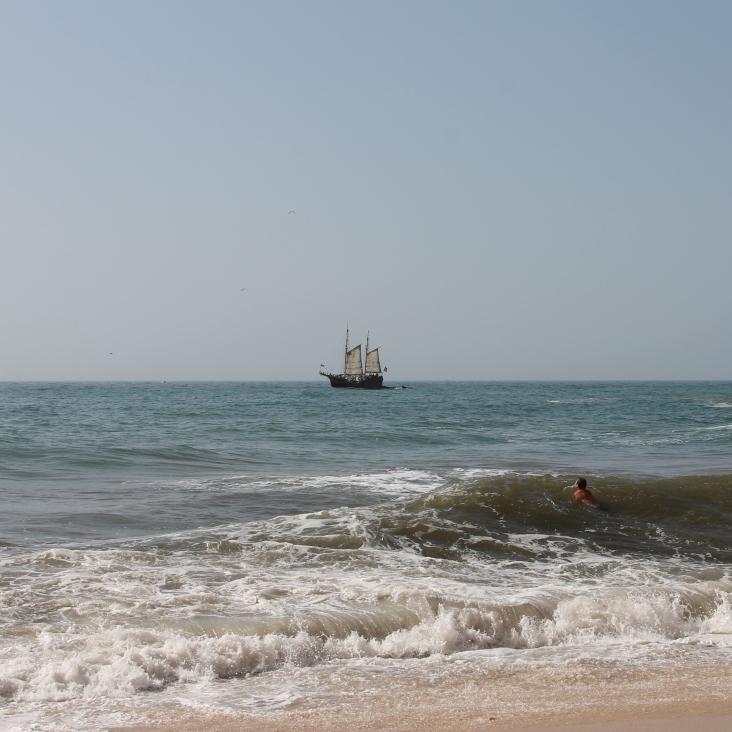 strand da marinha - vakantie algarve nabij carvoeiro - portugal IMG_8897