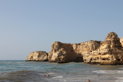 strand da marinha - vakantie algarve nabij carvoeiro - portugal IMG_8902