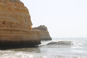 strand da marinha - vakantie algarve nabij carvoeiro - portugal IMG_8910