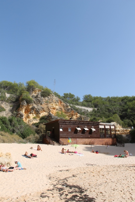 strand da marinha - vakantie algarve nabij carvoeiro - portugal IMG_8913