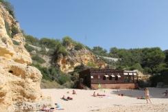 strand da marinha - vakantie algarve nabij carvoeiro - portugal IMG_8914