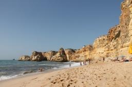 strand da marinha - vakantie algarve nabij carvoeiro - portugal IMG_8916