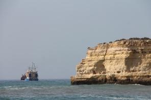 strand da marinha - vakantie algarve nabij carvoeiro - portugal IMG_8918