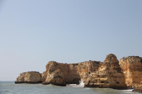 strand da marinha - vakantie algarve nabij carvoeiro - portugal IMG_8919