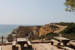 strand da marinha - vakantie algarve nabij carvoeiro - portugal IMG_8922