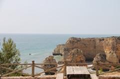 strand da marinha - vakantie algarve nabij carvoeiro - portugal IMG_8923