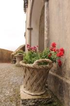 kasteel sintra bloemen vakantie portugal