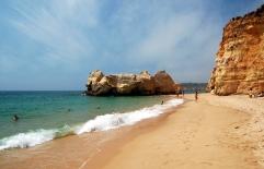 Praia_da_Rocha_Portimão vakantie portugal