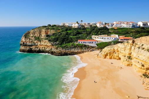 Benagil beach, Algarve. Portugal