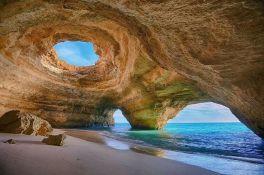 Benagil-grot portugal vakantie algarve
