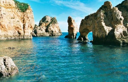 Ponta-Da-Piedade-Lagos-Portugal - grotten tour algarve 1