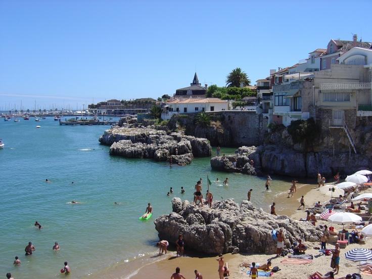 strand cascais vakantie portugal