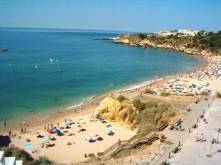 Praia da Oura - mooi strand albufeira