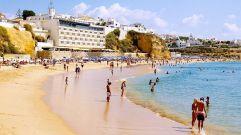 praia do tunel - mooi strand albufeira