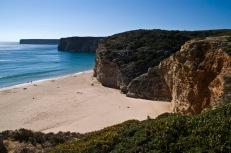 strand van Beliche - Algarve