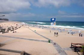 foz-do-arelho strand vakantie portugal