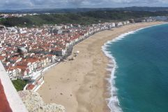 lissabon Nazare vakantie portugal