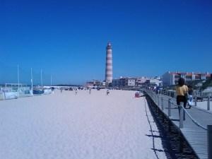 praia da Barra strandvakantie zon zee portugal