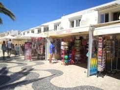 praia da luz - algarve vakantie strand 4 winkelen