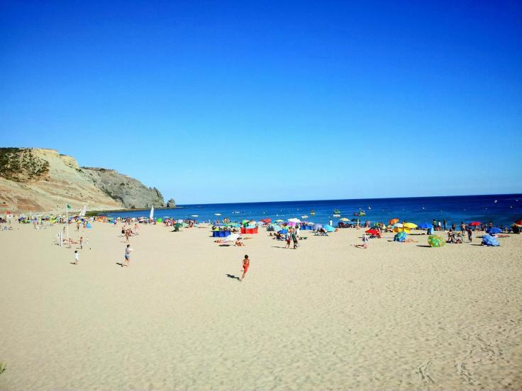 praia da luz - algarve vakantie strand