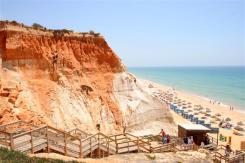 albufeira regio stranden