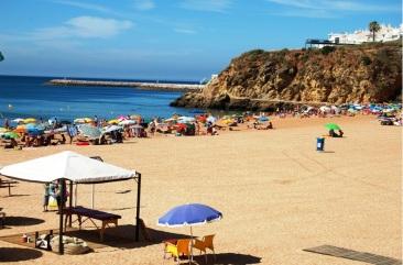 Mooiste stranden -Praia_do_Tunel-albufeira algarve vakantie 2