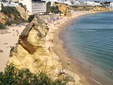 Mooiste stranden -Praia_do_Tunel-albufeira algarve vakantie 3