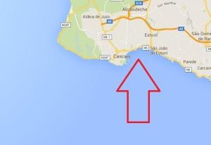 kaart - vakantie - portugal Duquesa Beach strand