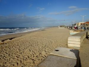 Praia do Furadoura aan de Costa Verde vakantie portugal 2